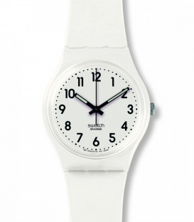 Reloj SWATCH Just White Soft GW151O