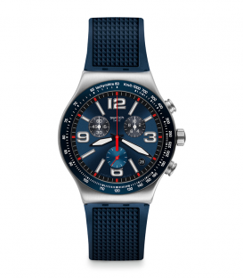 Reloj SWATCH Blue Grid YVS454