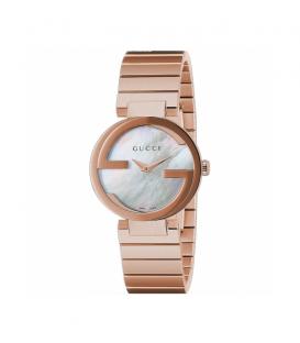 Reloj Gucci Interlocking SM Blanco YA133515