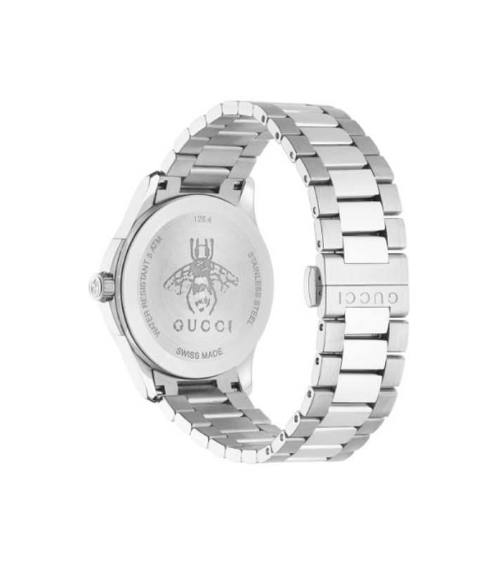 Reloj Gucci G Timeless MD Silver Black YA1264029
