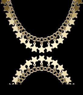 """Gargantilla Plata """"Stars"""""""