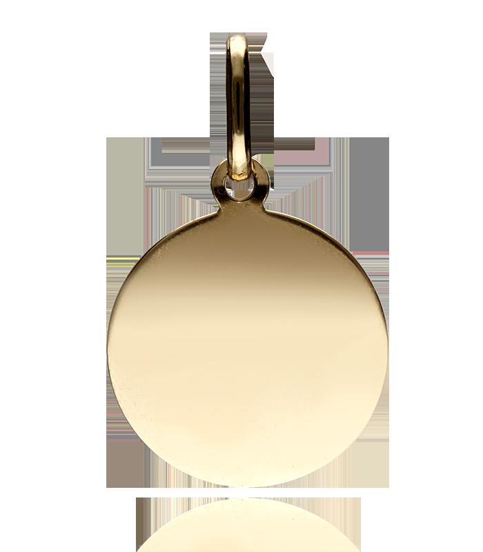 Medalla Oro Angel Pequeña