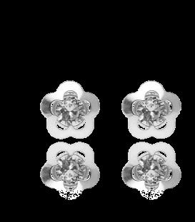 Pendientes Flor con Circonta