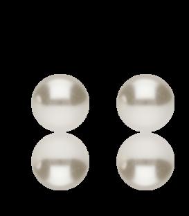"""Pendientes """"Henar"""" de perla pacífico sintética"""