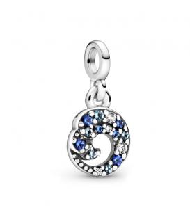 Charm Pandora Me colgante en plata de ley My blue Ocean Wave 799010C01