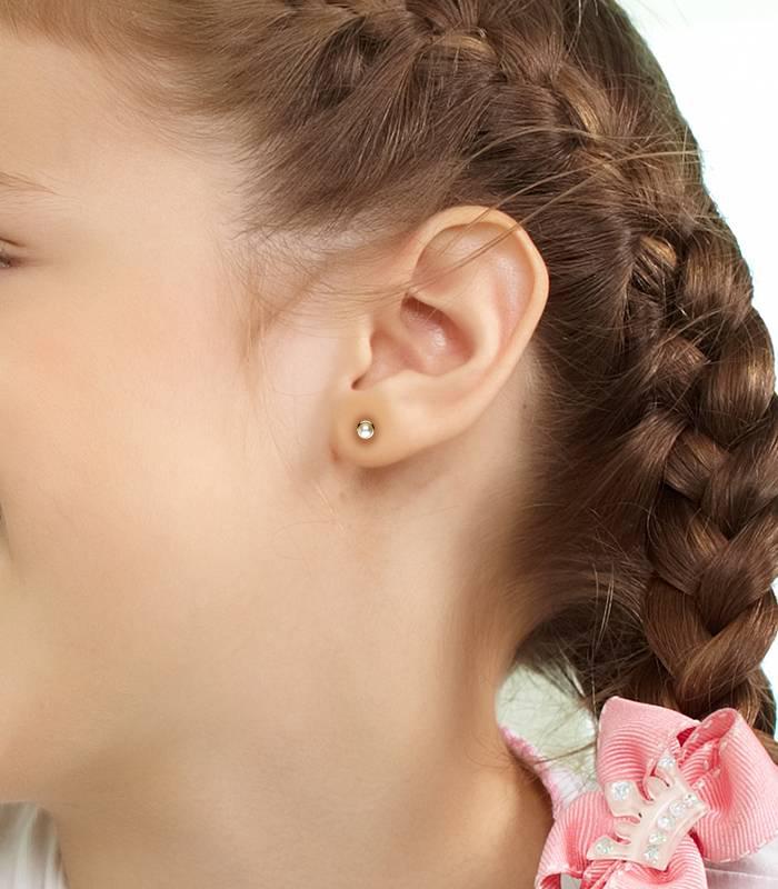 Pendientes Perlas de Bebé