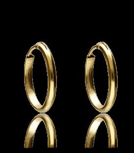 Pendientes Oro Aro 15x2 mm