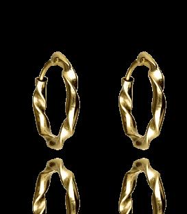 Pendientes Oro de Aro 16x2 mm