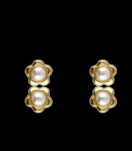 Pendientes Oro Bebé Perla