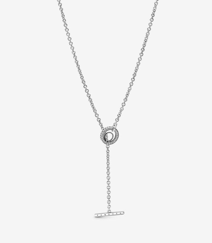 Collar T-Bar Logo Pandora 399050C01-80