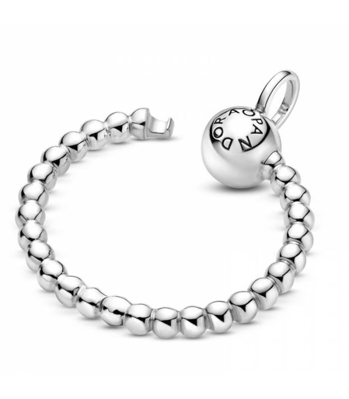 Colgante O Pandora Moments en plata de ley de Esferas pequeño 399077C00