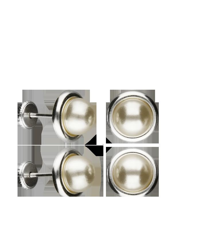 Pendientes Perlas y Plata