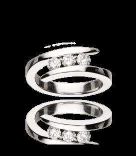 Anillo Tres Diamantes
