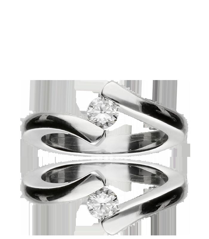 Solitario Oro y Diamante