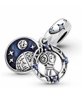 Charm colgante en plata de ley Princesa Leia Star Wars 799251C01