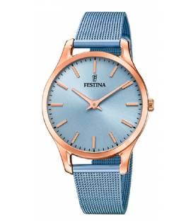 Reloj Festina Mujer correa azul esfera azul F20507-2