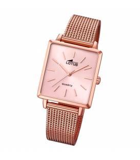 Reloj de mujer Lotus Tendy 18720/1 de malla de acero rosa