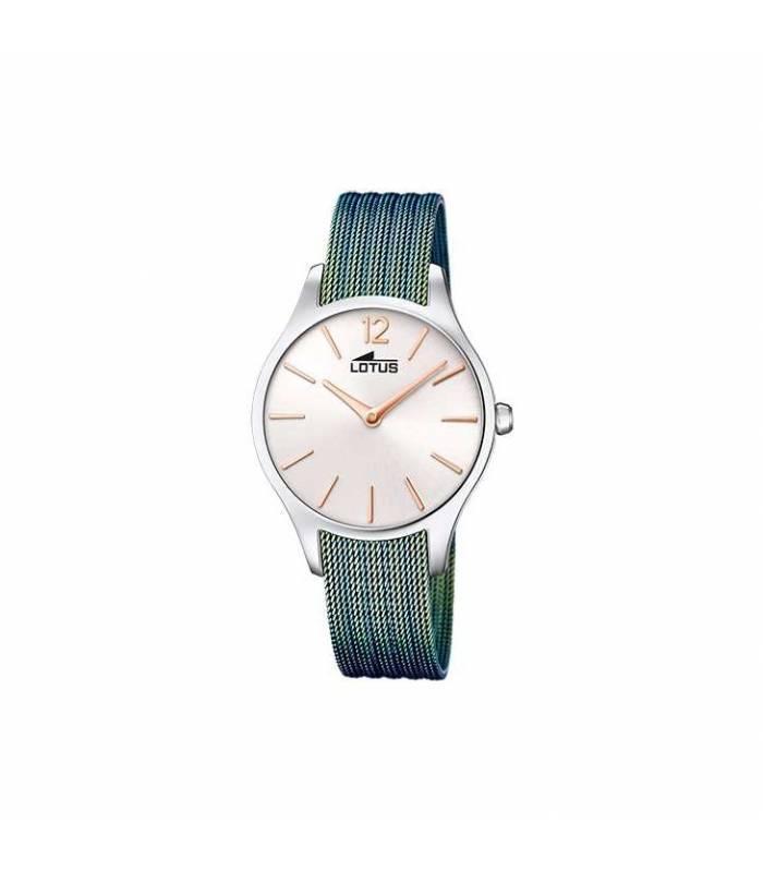 Reloj Lotus Bliss de mujer correa de acero azul 18749/2