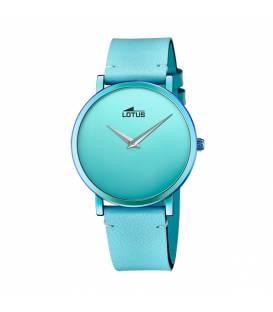 Reloj Lotus de mujer Minimalist correa azul y esfera azul 18779/1