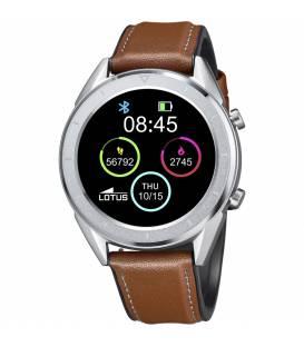 Reloj Lotus de mujer Smartime esfera digital cuero marron 50008/1