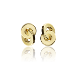 "Pendientes ""Circle Gold"" Oro Amarillo 18k"