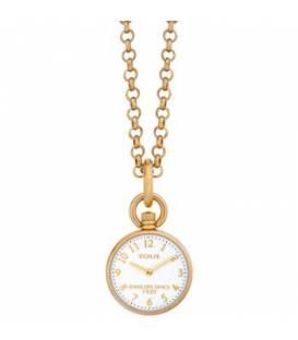 Reloj de bolsillo Job de acero IP dorado 000351585