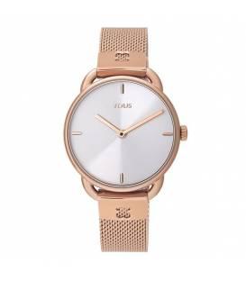 Reloj Let Mesh de acero IP rosado 000351500