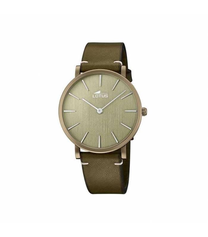 Reloj Lotus Hombre Minimalist verde 18783/3