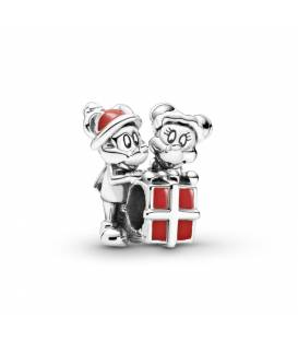 CHARM PLATA MICKEY, MINNIE Y REGALO 799194C01