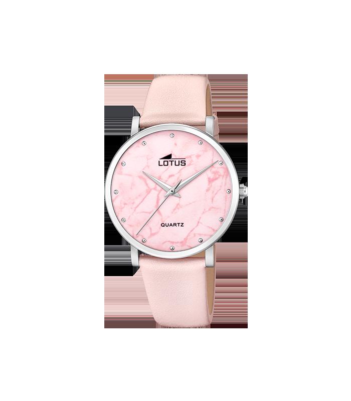 Reloj Lotus Mujer Trendy esfera rosa 18701/2