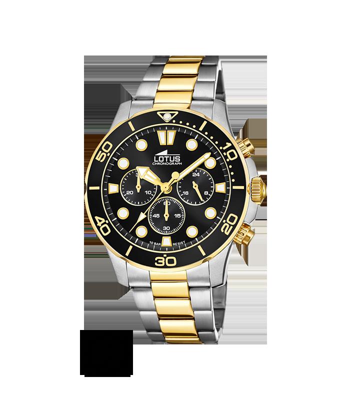Reloj Lotus Hombre Excellent línea dorada 18757/2