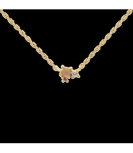 Collar Pd Paola Rosé Blush Gold CO01-175-U
