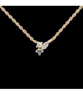 Collar Pd Paola Midnight Blue Gold CO01-176-U