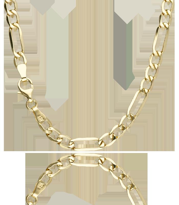 """Cadena """"Muriel"""" Oro 18 k de 50 cm"""