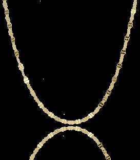 Cadena Irlanda de Oro de 18 k de 40 cm