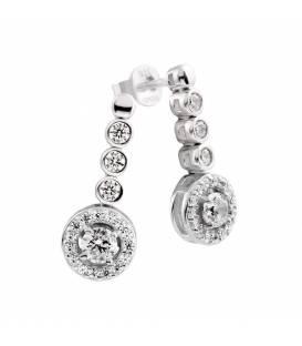 Pendientes Plata Circonitas Diamondfire 6216801582
