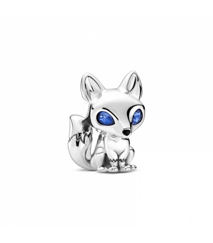 Charm Pandora en plata de ley Zorro de Ojos Azules 799096C01
