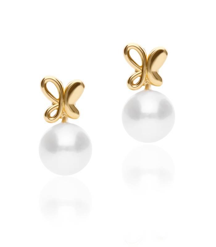 """Conjunto """"Spirit"""" oro 18k y perlas cultivadas"""