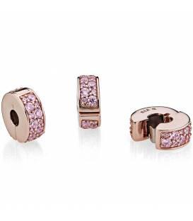 Clip Pandora Rose Elegancia Brillante Rosa 781817PCZ
