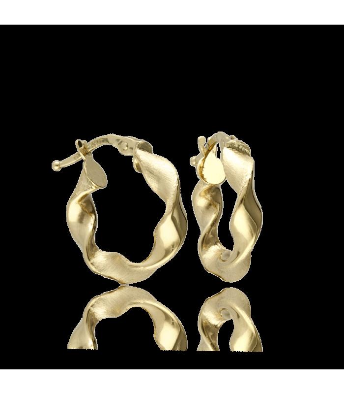 Aro Oro 18k Colección LOVELACE 10 mm