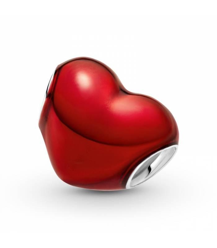 Charm Corazón Rojo Metálico 799291C02
