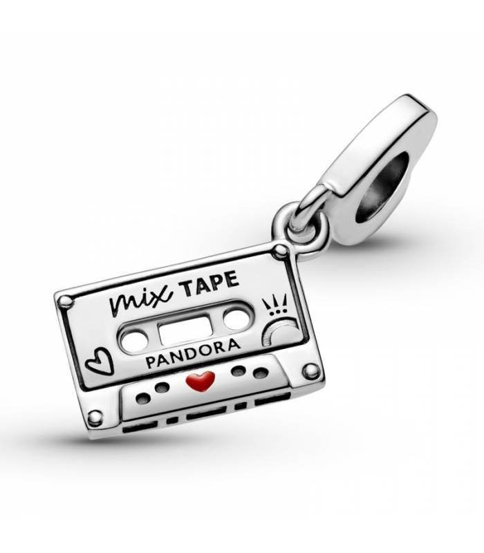 Charm Colgante en plata de ley Cassette Vintage 799295C01
