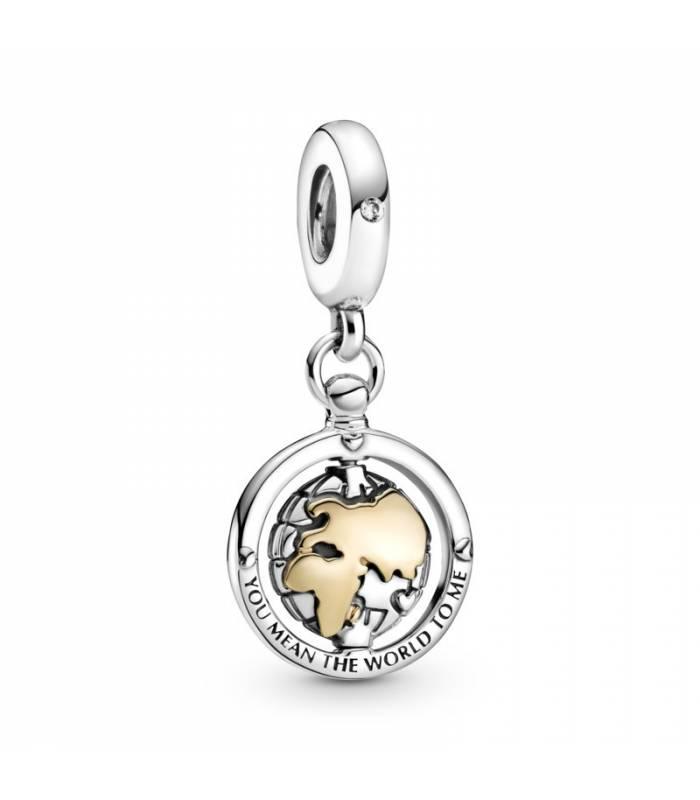 Charm Colgante en plata de ley Mundo Giratorio 799303C01