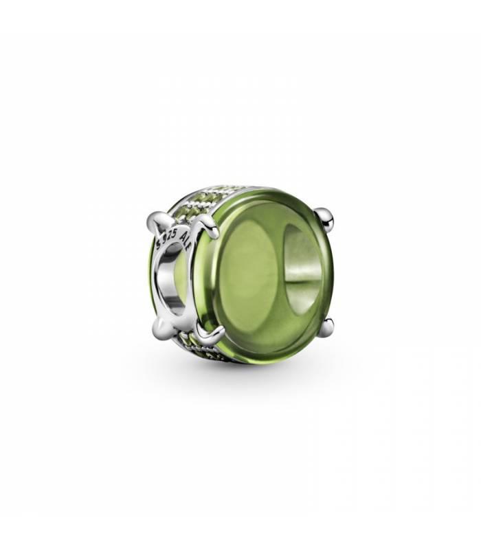 Charm Cabujón Ovalado Verde 799309C02