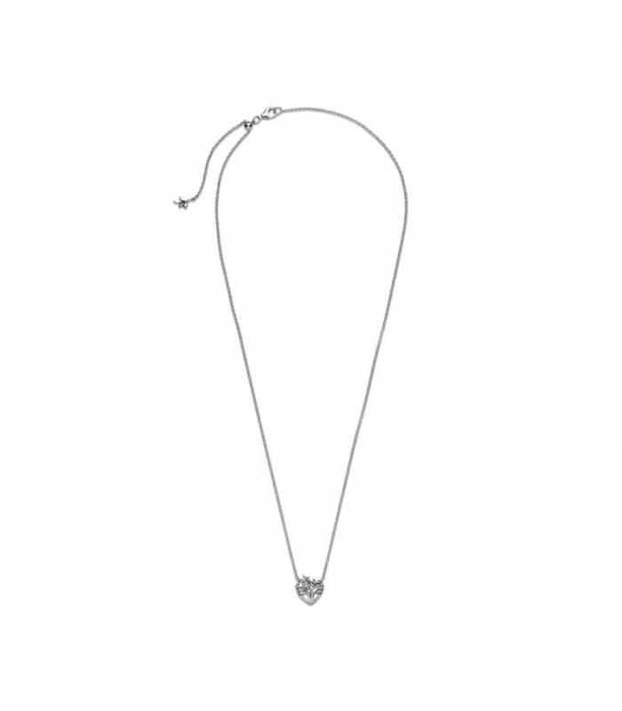 Collar en plata de ley Corazón Árbol de la Familia 399261C01-50