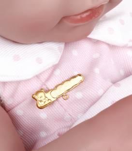 Alfiler bebé Oro 18k
