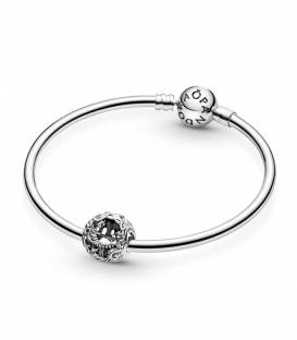 Charm Pandora en plata de ley Gato y Oruga de Alicia en el País de las Maravillas de Disney 799361C00