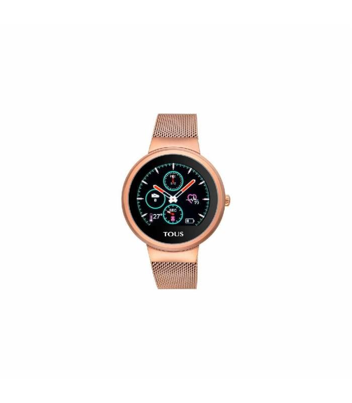 Reloj Tous activity Rond Touch de acero IP rosado 000351650