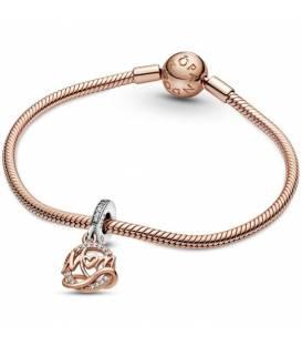 Charm colgante Pandora circonitas y MOM en rose 789374C01