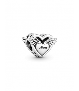 Charm plata Pandora Mamá & Alas de Ángel 799367C00